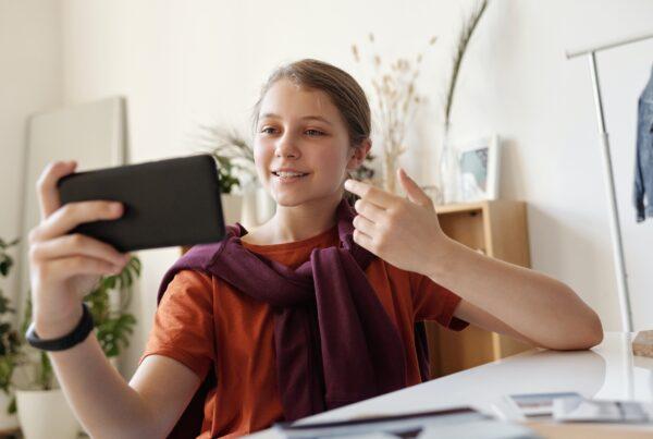 eerste online meet-ups met jongeren